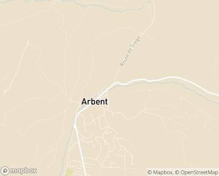 Localisation EHPAD Résidence Villa Charlotte - 01100 - Arbent