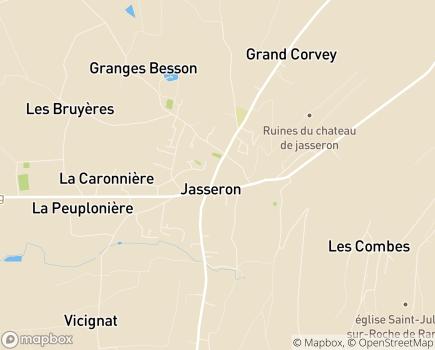 Localisation EHPAD Maison Saint-Joseph - 01250 - Jasseron