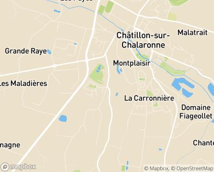 Localisation EHPAD La Montagne - 01400 - Châtillon-sur-Chalaronne