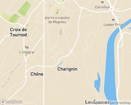 Localisation EHPAD Résidence Les Jardins Médicis - 01300 - Belley