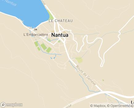 Localisation ADAPA Association Départementale Aide aux Personnes de l'Ain - 01130 - Nantua