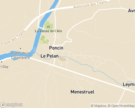 Localisation ADAPA Association Départementale Aide aux Personnes de l'Ain - 01450 - Poncin