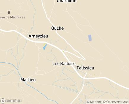 Localisation Colisée - Résidence Ameyzieu - 01510 - Talissieu
