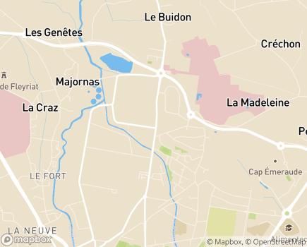 Localisation Dom & Vie Bourg en Bresse - 01000 - Bourg-en-Bresse