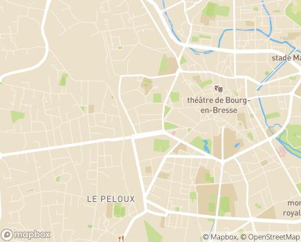Localisation Maison de Retraite Bon Repos - 01000 - Bourg-en-Bresse