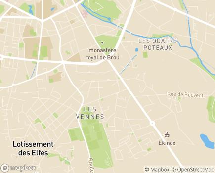 Localisation Korian Jardin de Brou - 01000 - Bourg-en-Bresse