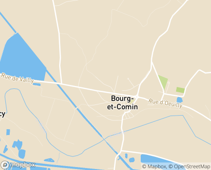 Localisation EHPAD Résidence Les Boutons d'Or - 02160 - Bourg-et-Comin
