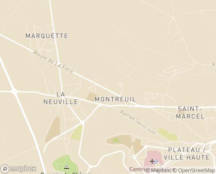 Localisation Affaires Sociales - 02013 - Laon