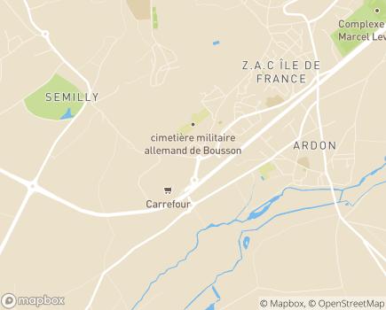 Localisation Fédération ADMR de l'Aisne - 02000 - Laon