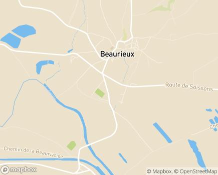 Localisation ADMR de Beaurieux - 02160 - Beaurieux