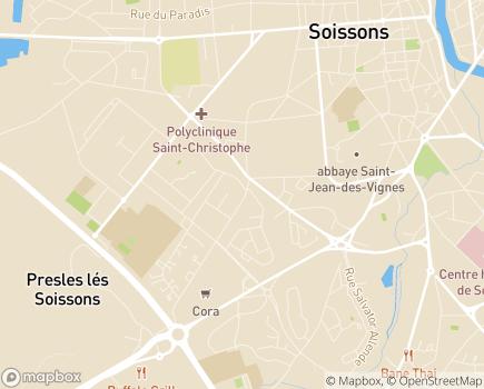 Localisation Aid'Aisne - 02200 - Soissons