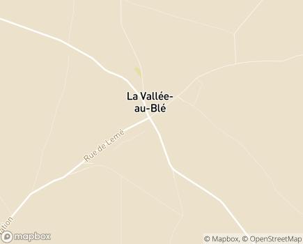 Localisation La Maison du Clos des Marronniers EHPAD - Adef Résidences - 02140 - La Vallée-au-Blé