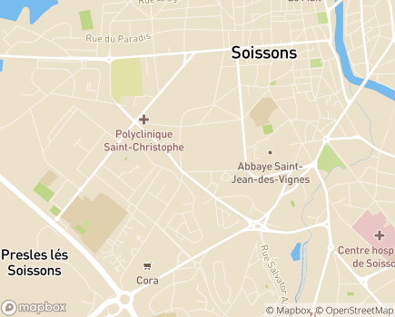Localisation Emera - EHPAD Augusta - 02200 - Soissons