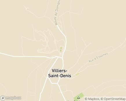 Localisation Hôpital Villiers Saint Denis La Renaissance Sanitaire - 02310 - Villiers-Saint-Denis