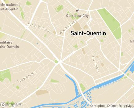 Localisation ADHAP (Handicap - Dépendance) - 02100 - Saint-Quentin