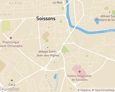 Localisation Dom'aisne - 02200 - Soissons