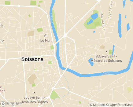 Localisation AXEO Services Soissons - 02200 - Soissons