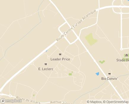 Localisation Médic Centre Equipement - 03410 - Domérat