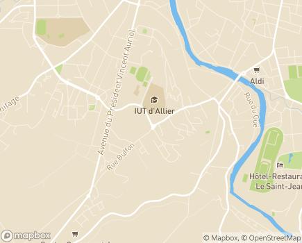 Localisation Maison de Retraite Chant'Alouette - 03100 - Montluçon
