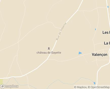 Localisation EHPAD de Gayette - 03150 - Montoldre