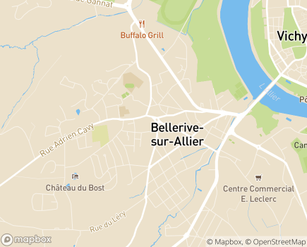 Localisation Azaé Vichy - 03700 - Bellerive-sur-Allier