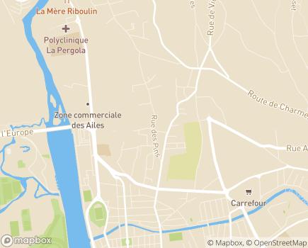 Localisation Domitys La Fontaine du Roy - Résidence avec Services - 03200 - Vichy