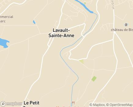 Localisation EHPAD La Charité (Groupe ACPPA) - 03100 - Lavault-Sainte-Anne