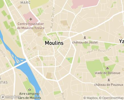 Localisation Centre Communal d'Action Sociale - 03000 - Moulins
