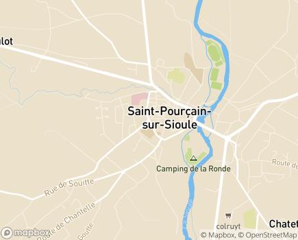 Localisation Villa Cep'Age - 03500 - Saint-Pourçain-sur-Sioule