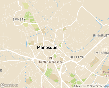 Localisation SEMO Service Educatif en Milieu Ouvert - 04400 - Manosque