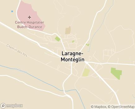 Localisation CMPP des Hautes-Alpes - 05300 - Laragne-Montéglin