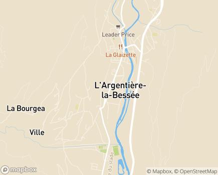 Localisation Logis des Jeunes des Ecrins - 05120 - L'Argentière-la-Bessée