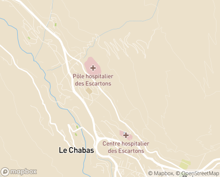 Localisation Korian - Clinique Montjoy - 05100 - Briançon
