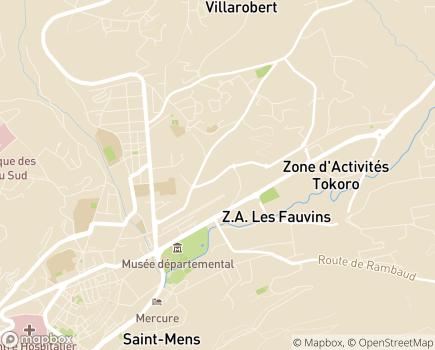 Localisation ARS Délégation Départementale des Hautes-Alpes - 05004 - Gap
