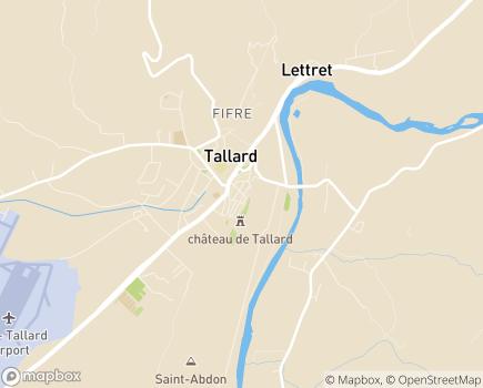 Localisation Centre Médical la Durance - 05130 - Tallard