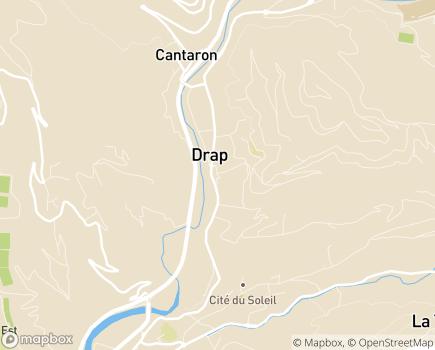 Localisation EHPAD Résidence Messidor - 06340 - Drap