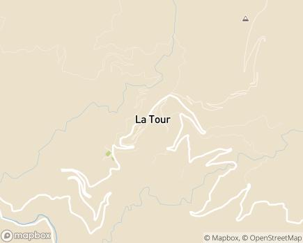 Localisation Maison de Retraite L'Albarea - 06420 - La Tour