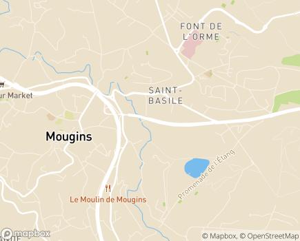 Localisation Clinique Chirurgicale de l'Espérance - 06254 - Mougins