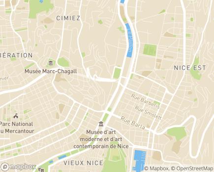 Localisation EHPAD Fondation Pauliani - 06000 - Nice
