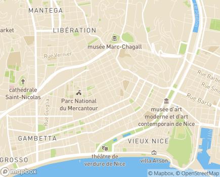 Localisation EHPAD Résidence Villa Foch - 06000 - Nice