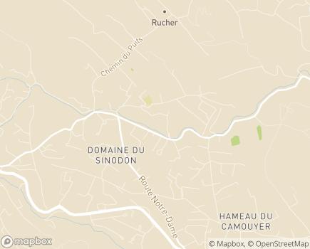 Localisation La Résidence du Golf - 06330 - Roquefort-les-Pins