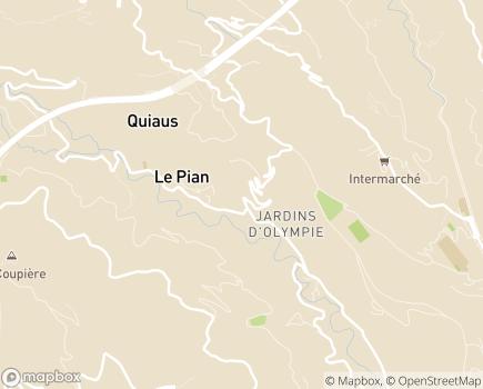 Localisation EHPAD Résidence Les Hauts de Menton - 06500 - Gorbio