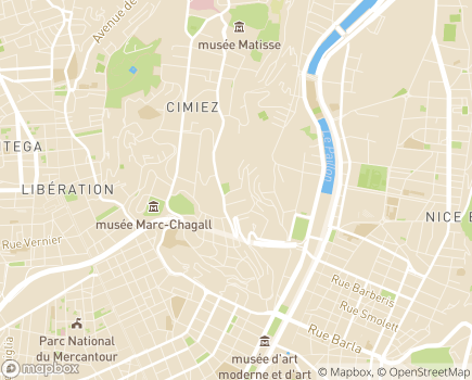 Localisation Résidence Les Jardins d'Arcadie - 06000 - Nice