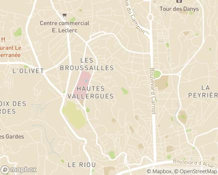 Localisation Résidence La Palmosa - 06400 - Cannes