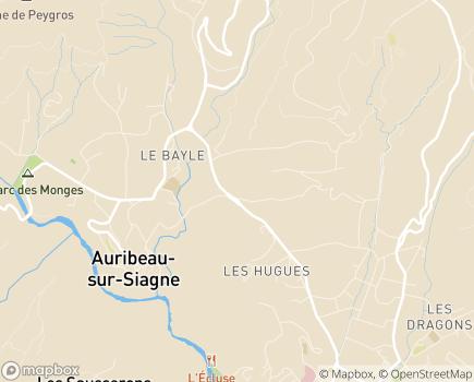 Localisation EHPAD Résidence La Bastide du Moulin - 06810 - Auribeau-sur-Siagne