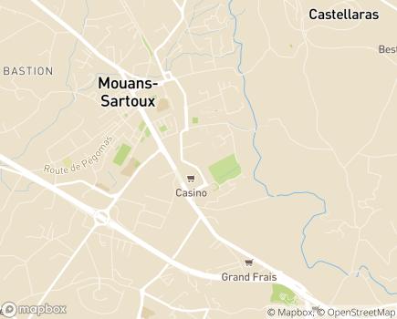 Localisation Emera - EHPAD Victoria - 06370 - Mouans-Sartoux