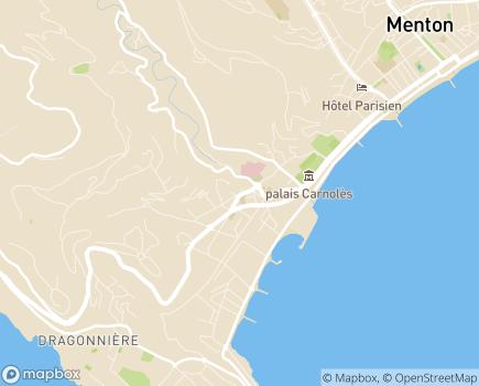 Localisation EHPAD Résidence Les Citronniers - 06190 - Roquebrune-Cap-Martin
