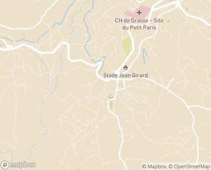 Localisation EHPAD Résidence Le Clos des Vignes - 06130 - Grasse