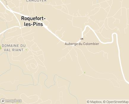 Localisation EHPAD Domaine de la Charlotte Groupe Belage - 06330 - Roquefort-les-Pins