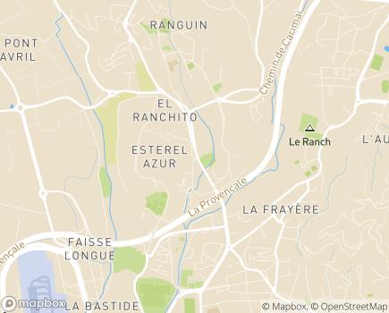 Localisation EHPAD La Villa des Saules - 06110 - Le Cannet